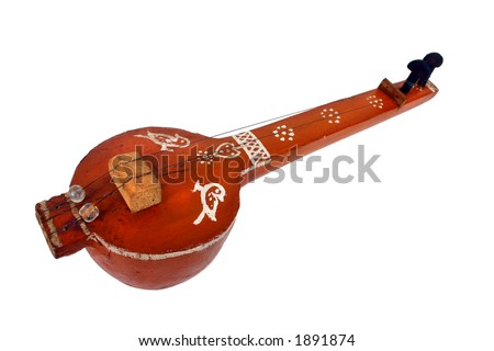 Indian classical string instrument 'Tambura'