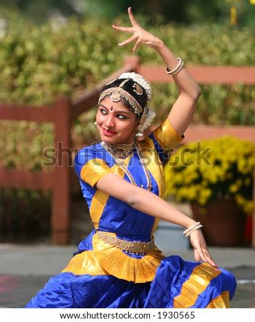 Indian Dancer - stock photo