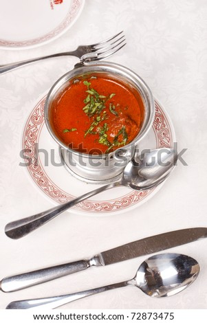 Indian dish - stock photo