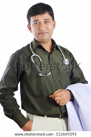 Indian Doctor - stock photo
