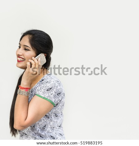 Indian Ethnicity Telecommunication Talking Data Concept