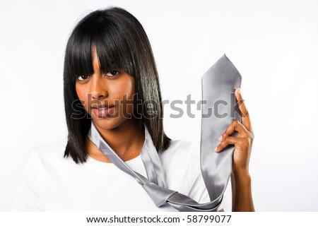 indian fashion woman - stock photo