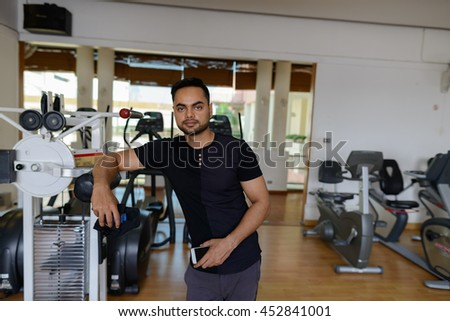 Indian fitness man