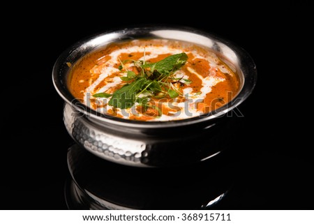 indian food - stock photo