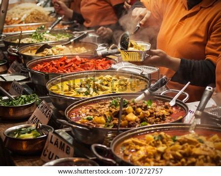 Borough Market Indian Food
