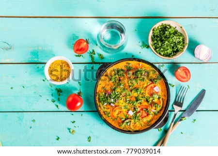 Indian food recipes indian masala egg stock photo download now indian food recipes indian masala egg omelet with fresh vegetables tomato hot forumfinder Gallery