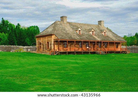 Indian house - stock photo