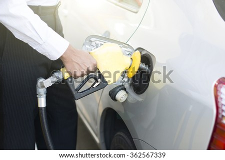 indian male pumping fuel