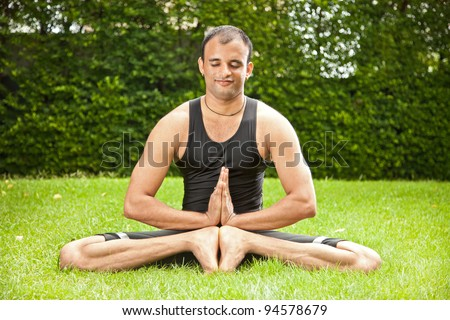 yoga india stock photos images  pictures  shutterstock