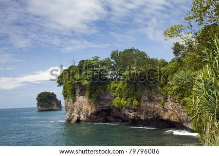 Indian ocean - stock photo