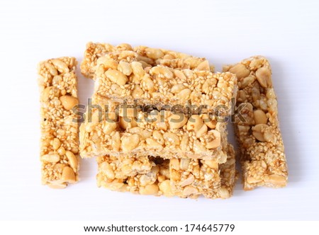 indian peanut and jaggery sweet popularly known as chikki