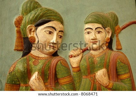 Indian picture - stock photo