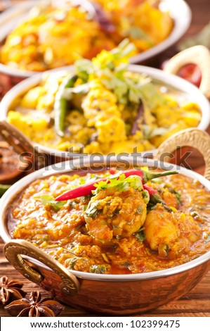 Indian specialities - stock photo