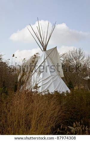 Indian Teepee - stock photo