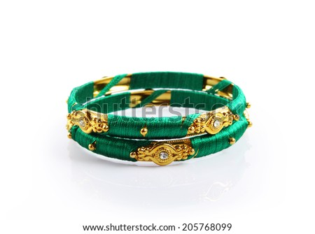 Indian Traditional Bangles - stock photo