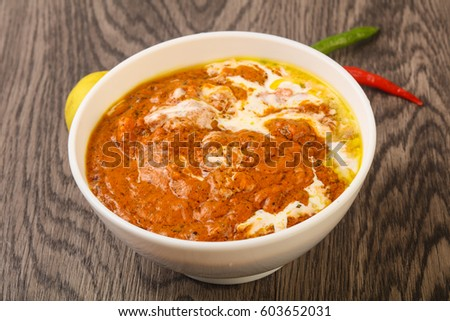 Bianca balti stock images royalty free images vectors - Herve cuisine butter chicken ...
