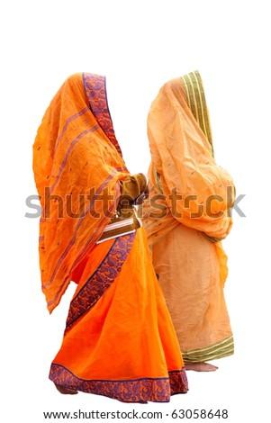 Indian women - stock photo