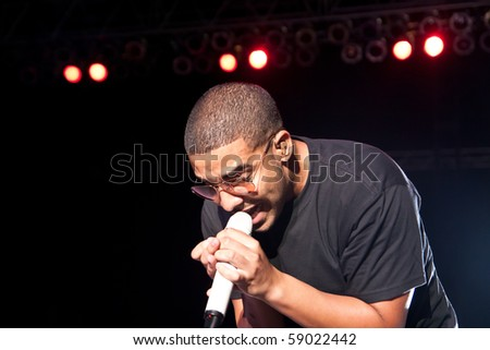 INDIANAPOLIS - AUGUST 13: Hip Hop/ Rap Artist Drake performs on stage at the Indiana State Fair on August 13, 2010 in Indianapolis, Indiana