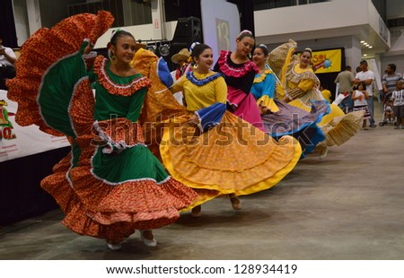 INDIANAPOLIS, INDIANA - JUNE 23 :  Latino Fest held at the Marion County Fairgrounds in Indianapolis, Indiana on June 23, 2012.