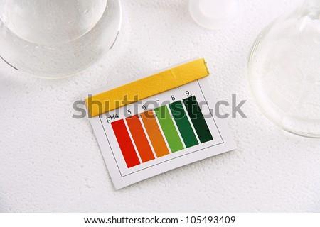 Indicator ph - stock photo