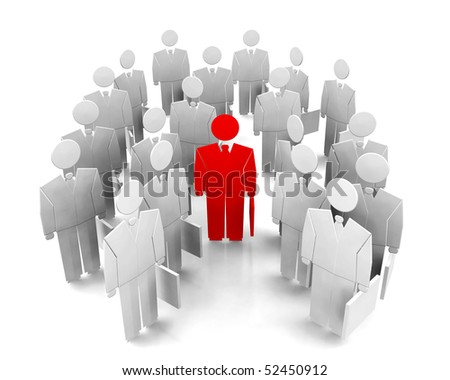 individuality - stock photo