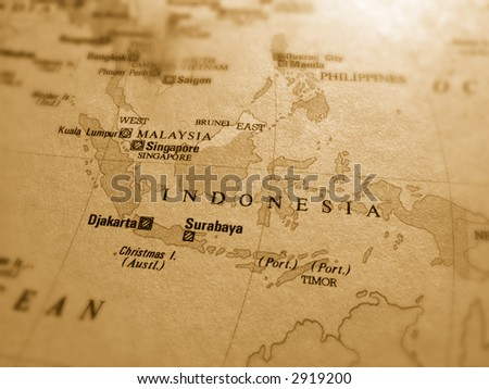 Indonesia - stock photo