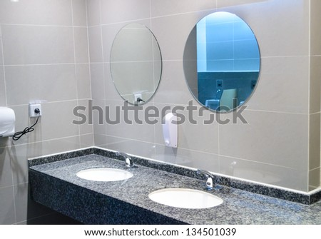 indoor washroom
