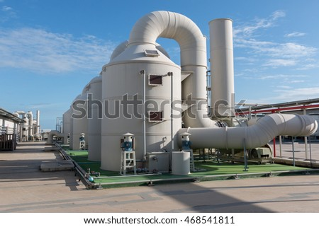 Industrial air conditioning and ventilation systems,chiller system on the roof
