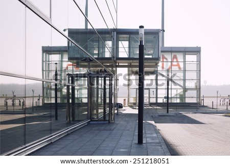 industrial architecture, VIP entry