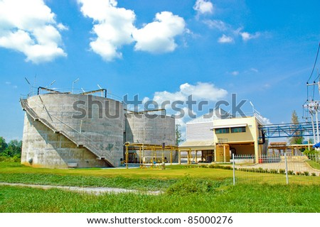Industrial areas, Cement Plant.