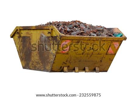 Industrial bin - stock photo