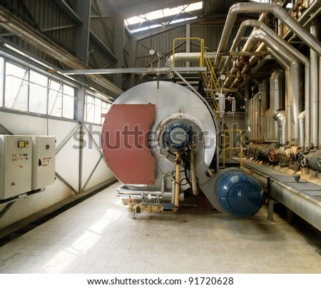 Industrial Boilers - stock photo