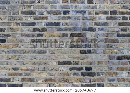 Industrial Brick wall best background texture close - stock photo