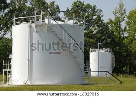Industrial Bulk Storage Tank for Petroleum Products