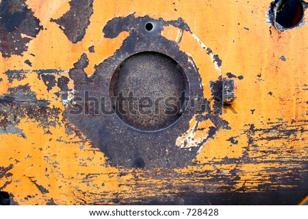 Industrial circle - stock photo