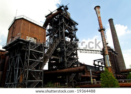 Industrial Decay in Duisburg Germany