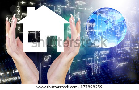 Industrial Design.Communication technology - stock photo