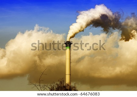 Industrial destruction - stock photo