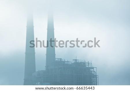 industrial destruction - stock photo