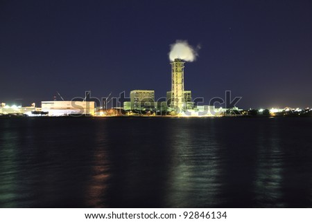 Industrial district - stock photo