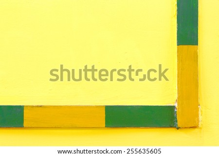 Industrial electric grounding. Background of a concrete wall. - stock photo