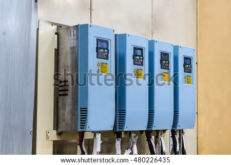 Industrial electricity inverters in a factory,controler