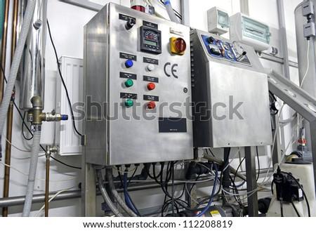Industrial equipment - stock photo