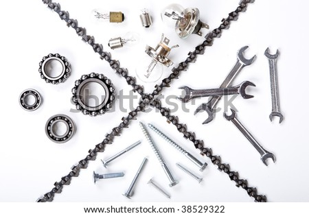 industrial heavy mechanic metal set