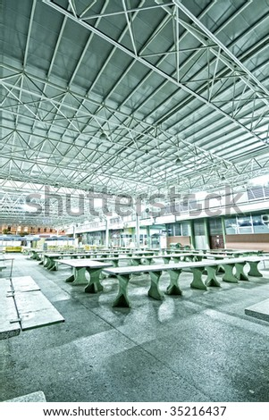 Industrial interior - stock photo