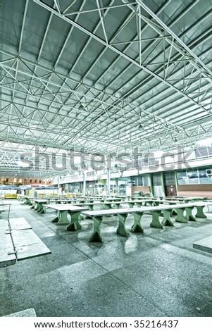 Industrial interior - stock photo