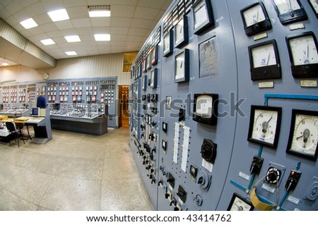 Industrial interiors - stock photo