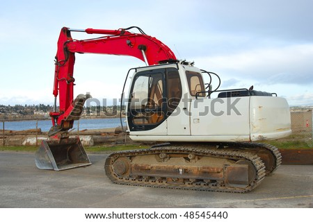 Industrial machinery. - stock photo