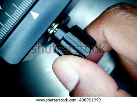 Industrial Measurement - stock photo