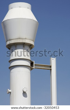 industrial metal chimney